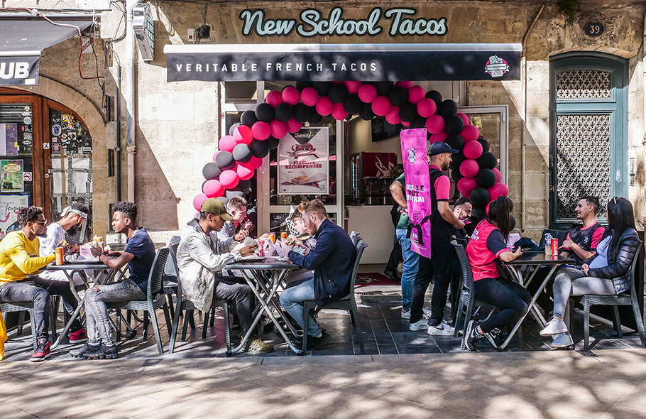 New School Tacos à Bordeaux